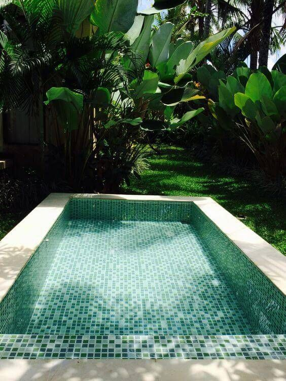 Simple Swimming Pool: Cozy Catchy Design