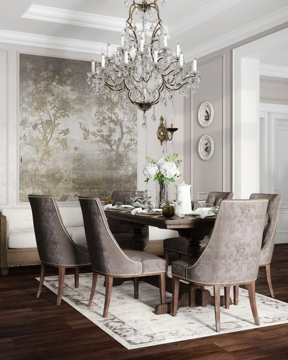 transitional dining room 14