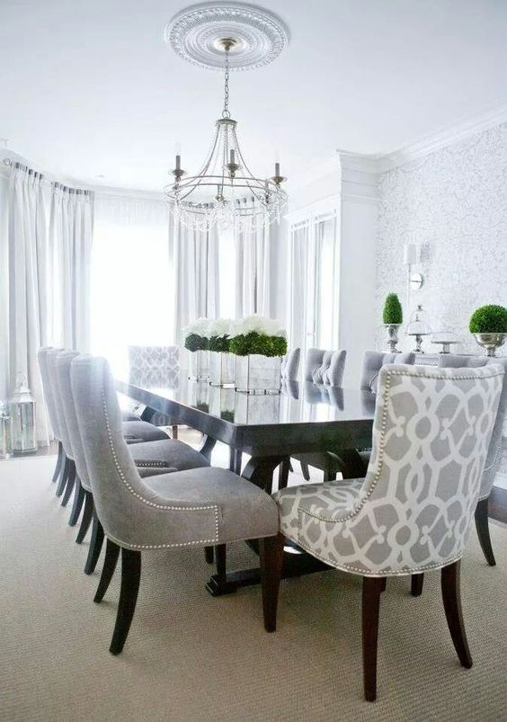 transitional dining room 15