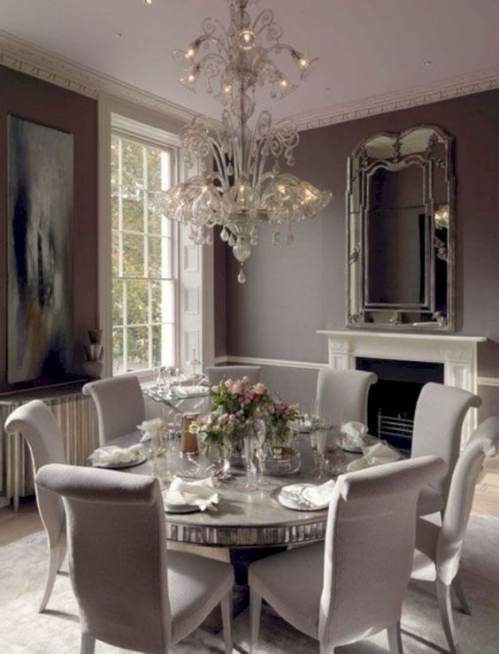transitional dining room 25