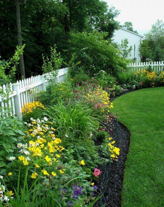 white fence ideas 10