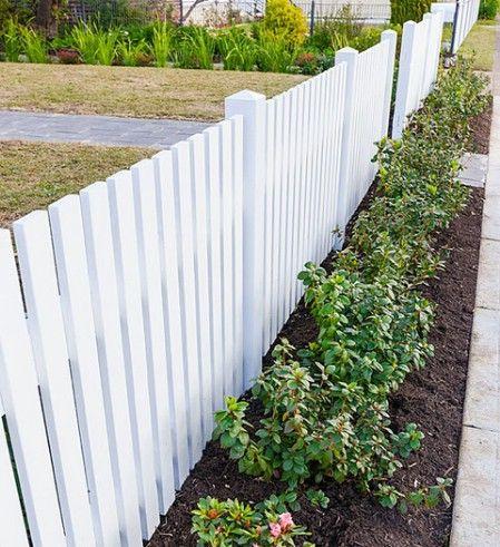 white fence ideas 12