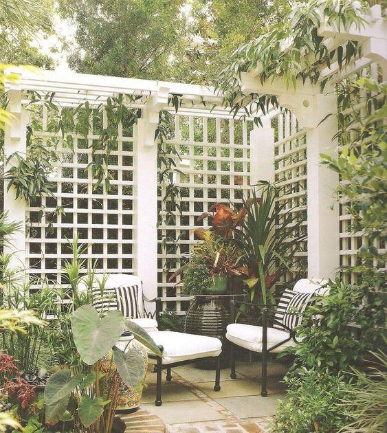 white fence ideas 16