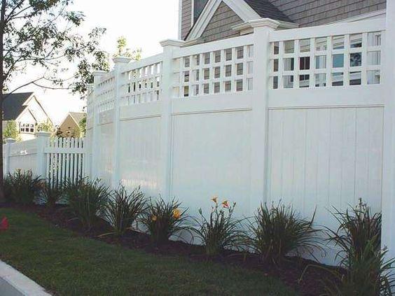 white fence ideas 19