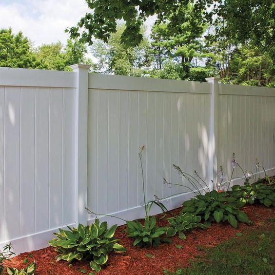 white fence ideas 20
