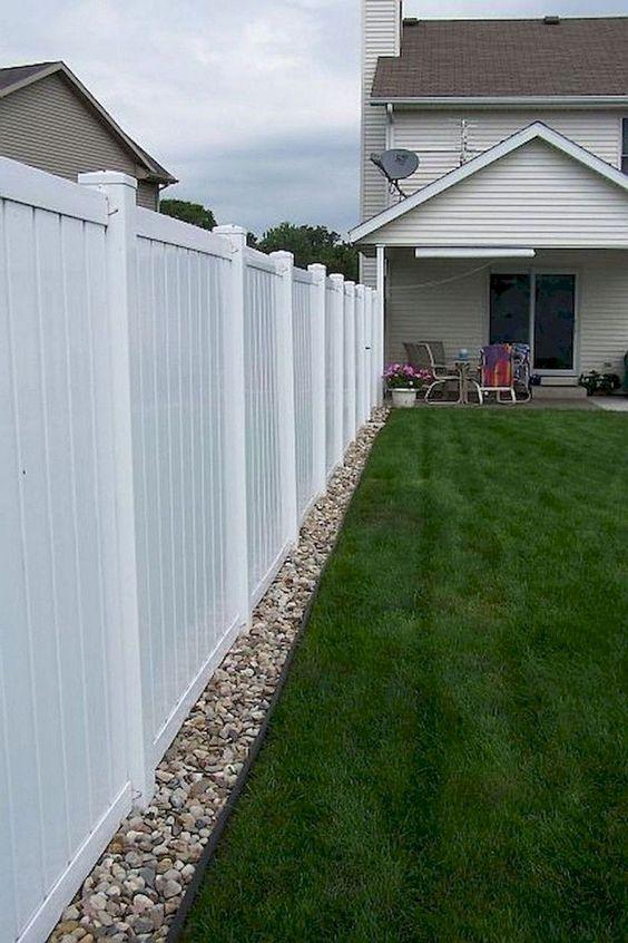 white fence ideas 21