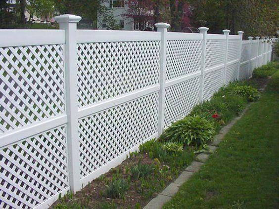 white fence ideas 24