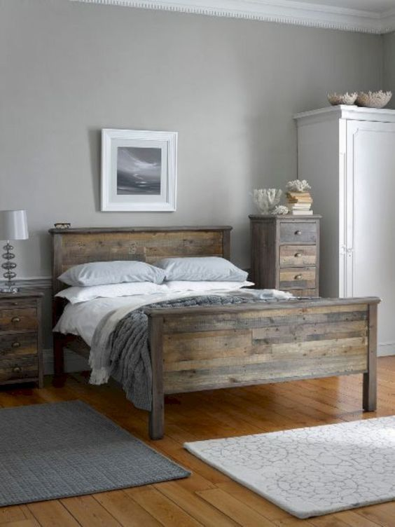 Wood Bedroom Ideas: Warm Neutral Decor