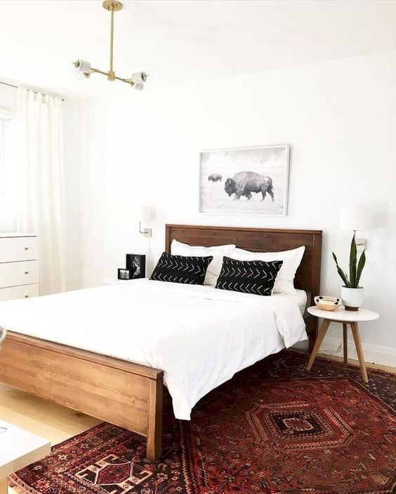 Wood Bedroom Ideas: Catchy Cozy Decor