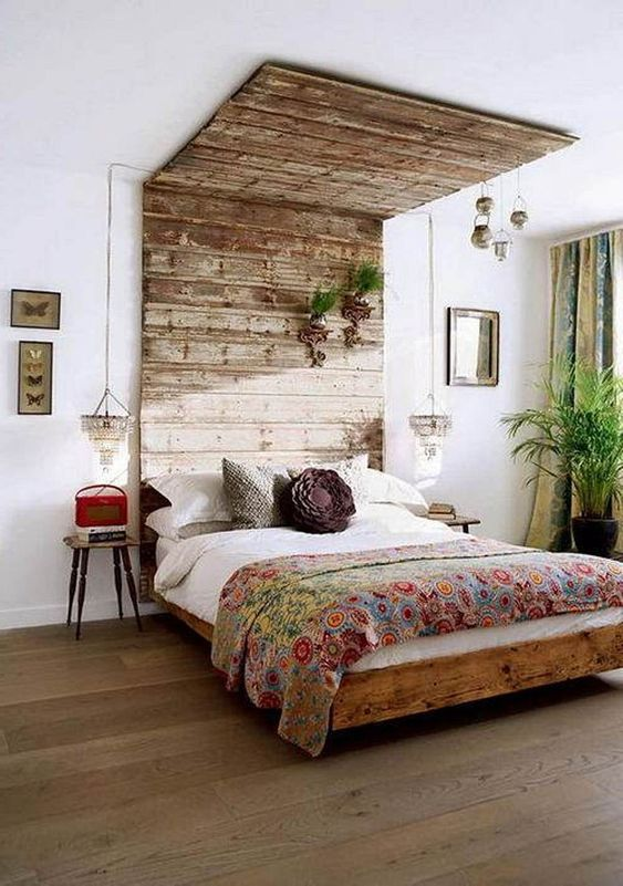 Wood Bedroom Ideas: Uniquely Catchy Decor