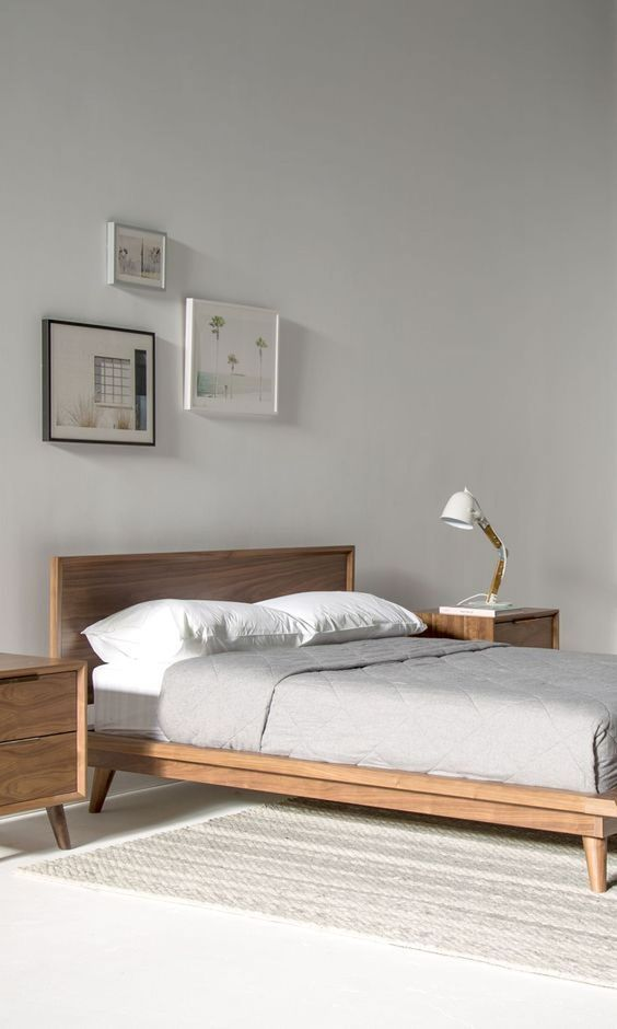 Wood Bedroom Ideas: Minimalist Earthy Decor