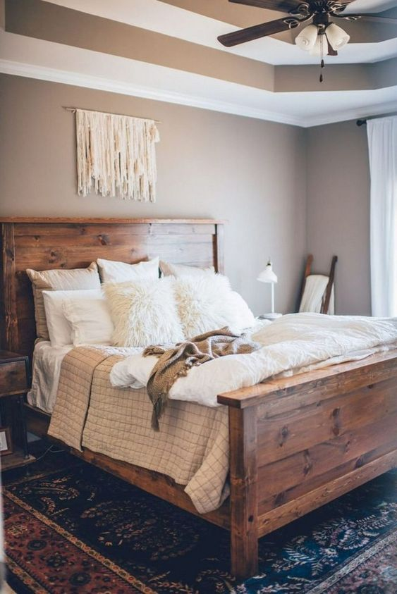 Wood Bedroom Ideas: Gorgeous Warm Decor