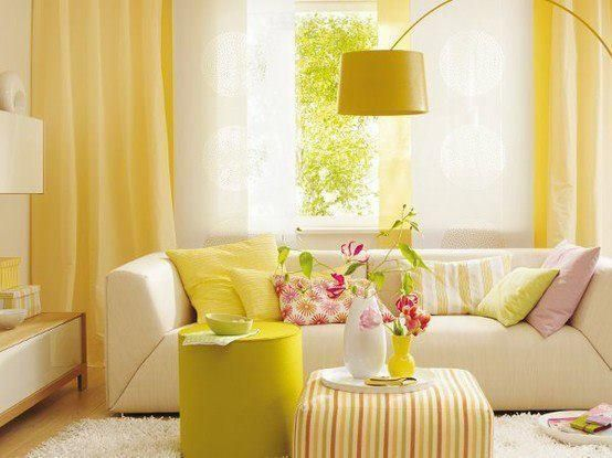 yellow living room ideas 11