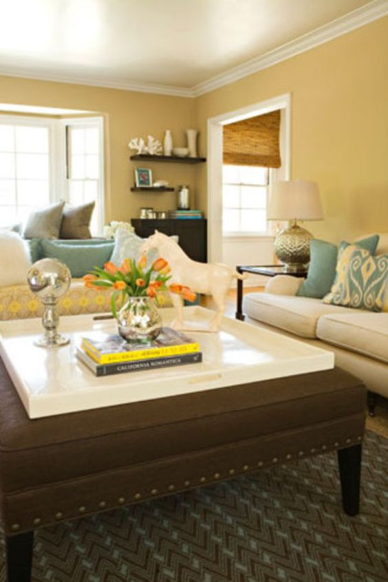 yellow living room ideas 12