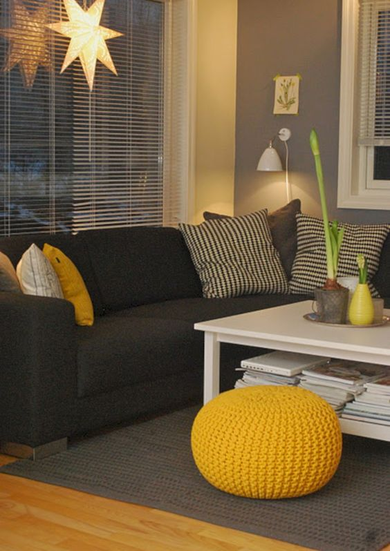 yellow living room ideas 13