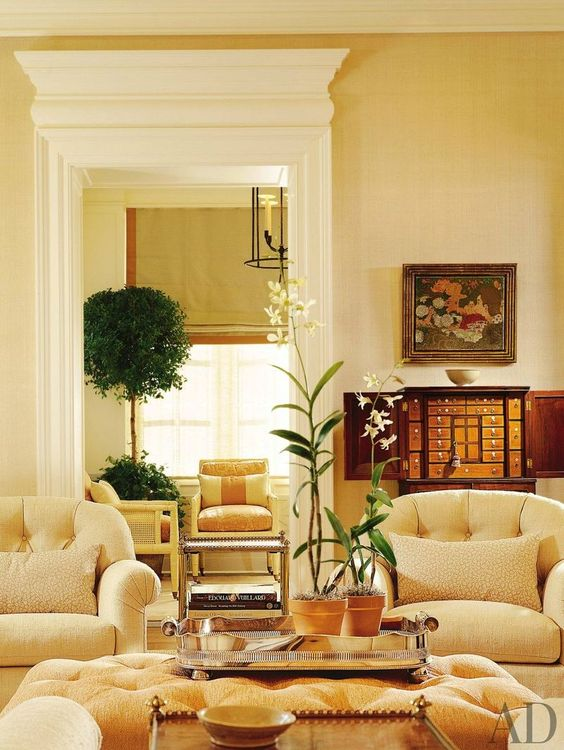 yellow living room ideas 16