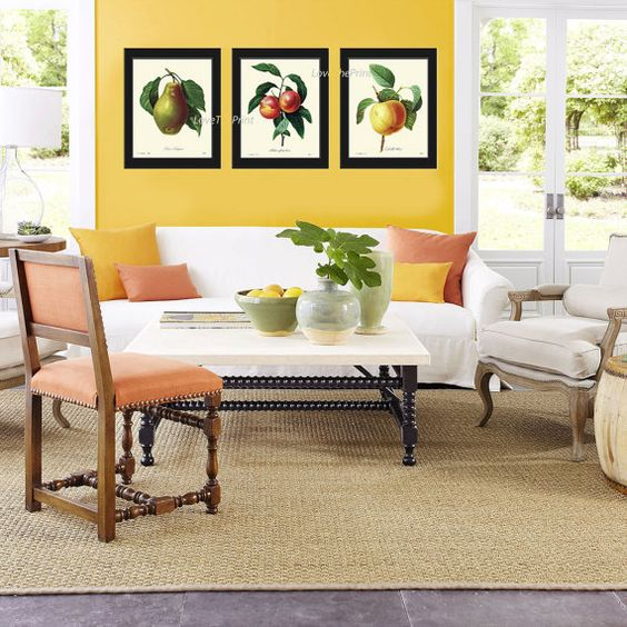 yellow living room ideas 18