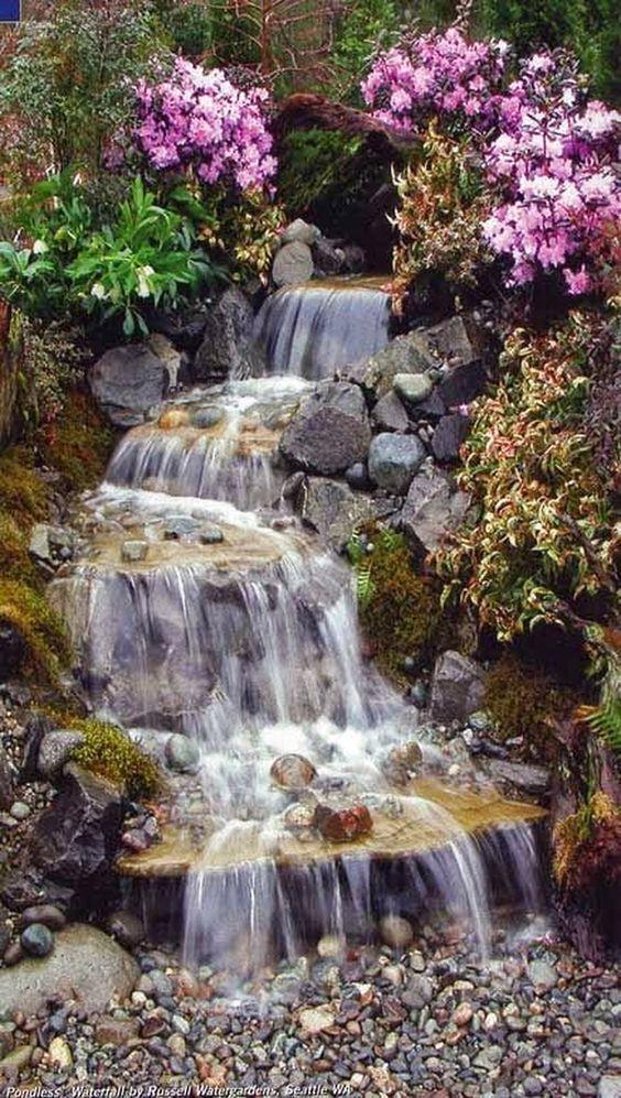 Backyard Water Feature 11