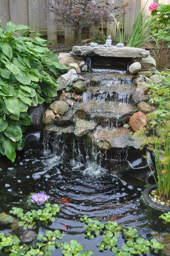 Backyard Water Feature 12