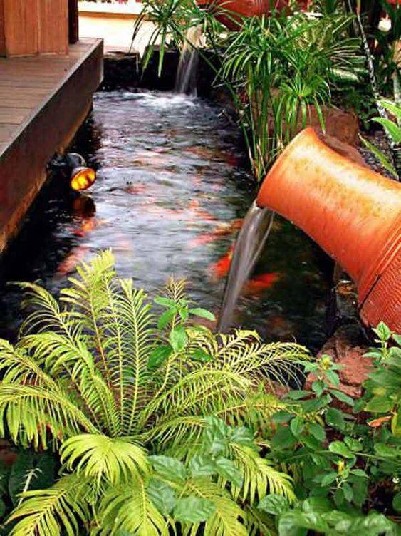 Backyard Water Feature 13