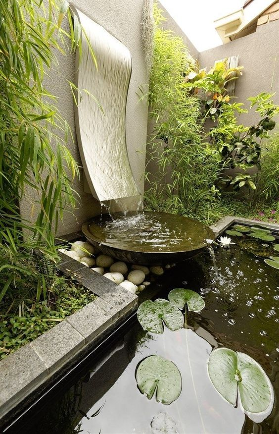 Backyard Water Feature 14