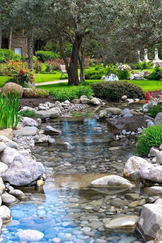 Backyard Water Feature 16