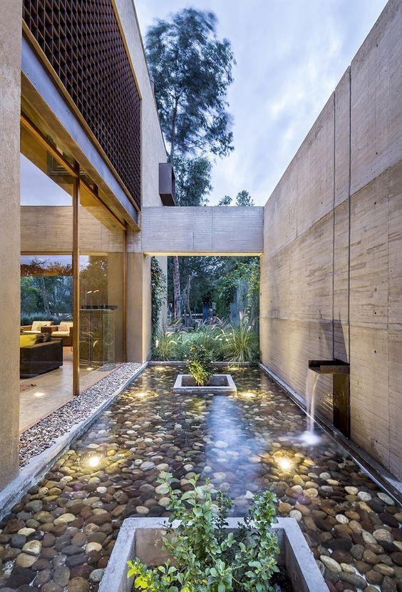 Backyard Water Feature 17