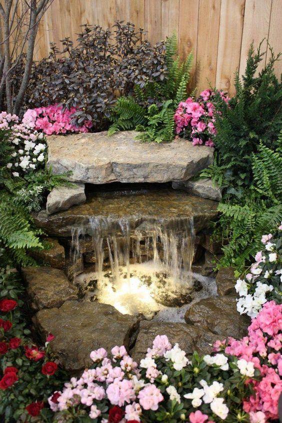 Backyard Water Feature: Gorgeous Earthy Waterfall