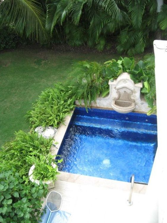 Backyard Water Feature 8