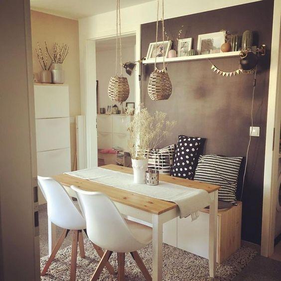 Dining Room Apartment: Stylish Boho Decor