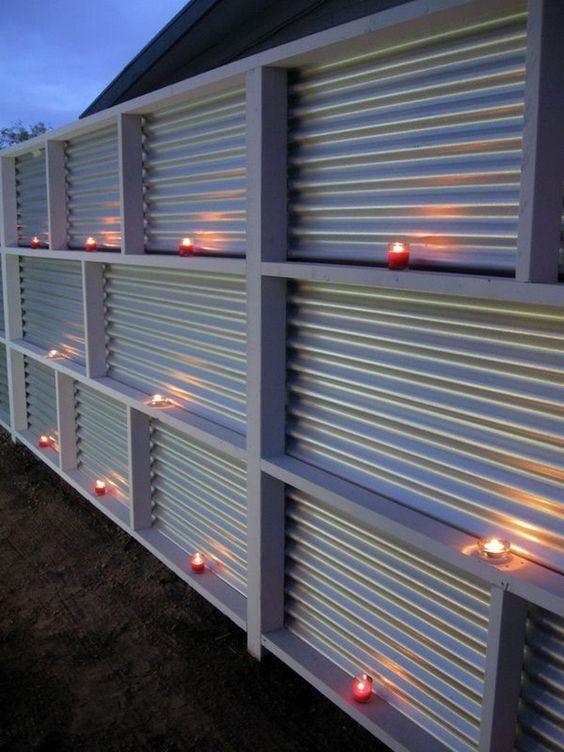 Patio Privacy Ideas: Chic DIY Fence