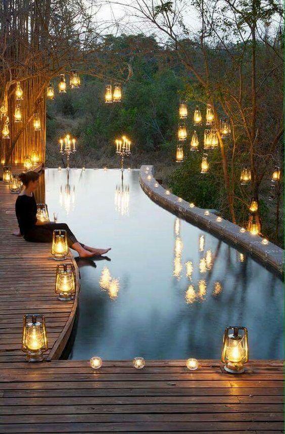 Swimming Pool Decorations: Enchanting Bright Decor