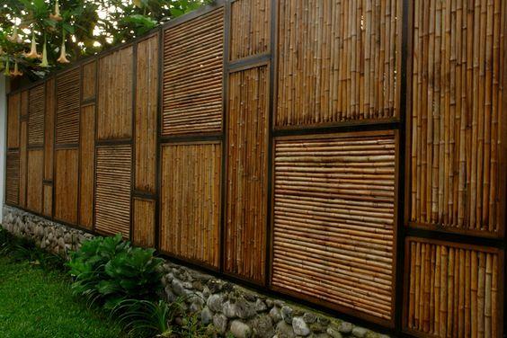 bamboo fence ideas 24