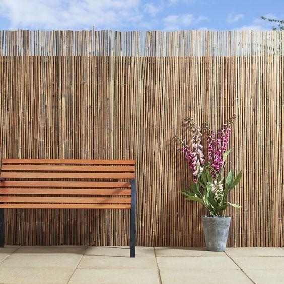 Bamboo Fence Ideas: Chic Minimalist Decor