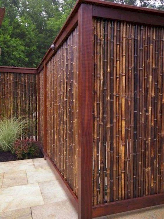 Bamboo Fence Ideas: Stunning Natural Design