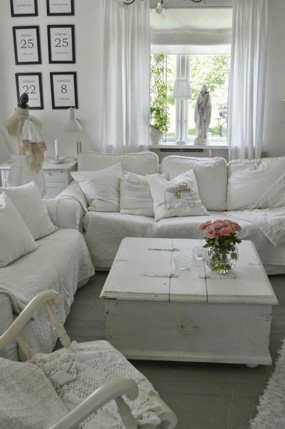 shabby chic living room 18