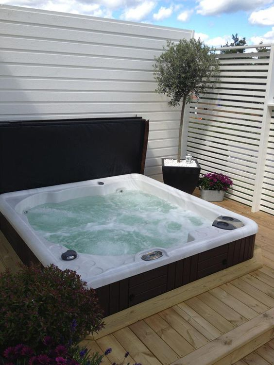sunken hot tub 23