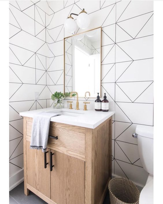 Bathroom Wallpaper Ideas 15