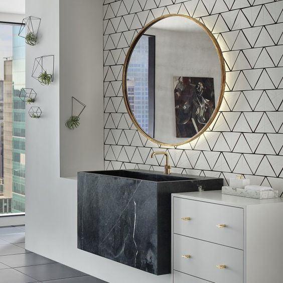 Bathroom Wallpaper Ideas 16