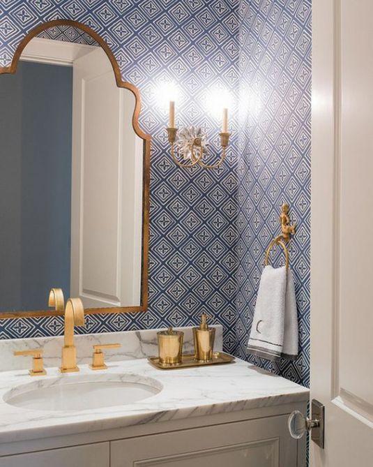 Bathroom Wallpaper Ideas 17