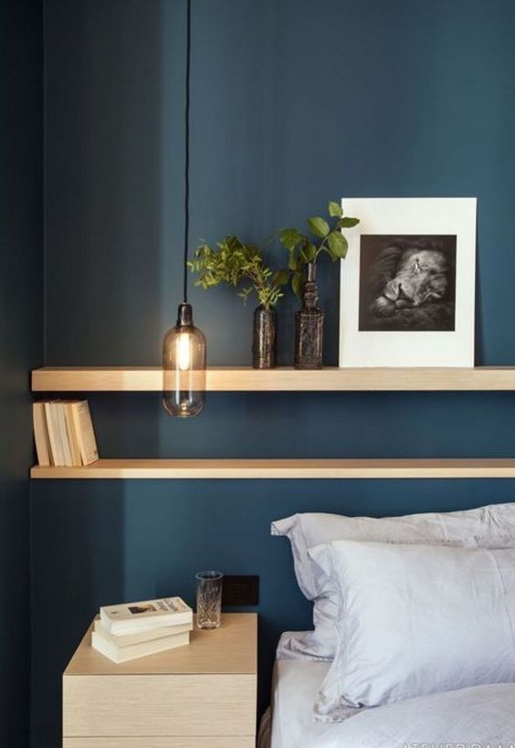 Bedroom Storage Ideas: Gorgeous Sleek Shelf