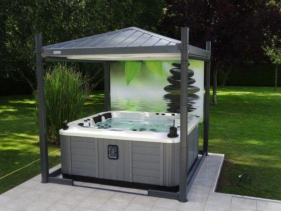 Hot Tub Base 10
