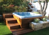 Hot Tub Base: 18+ Easy DIY Ideas for an Astonishing Backyard