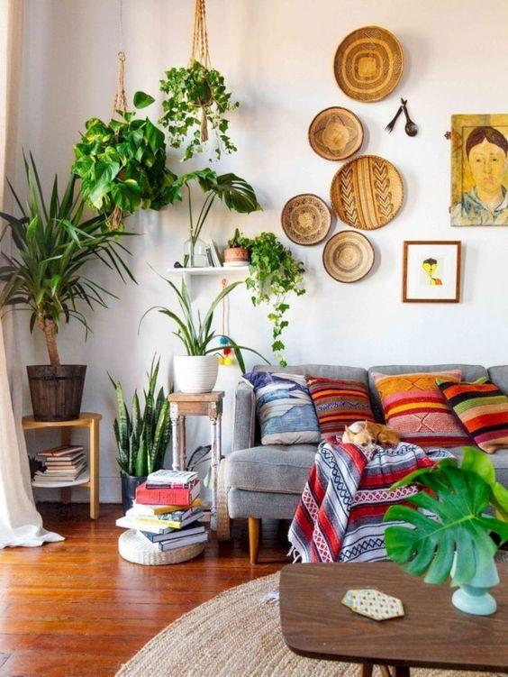 Living Room Plants Ideas 15