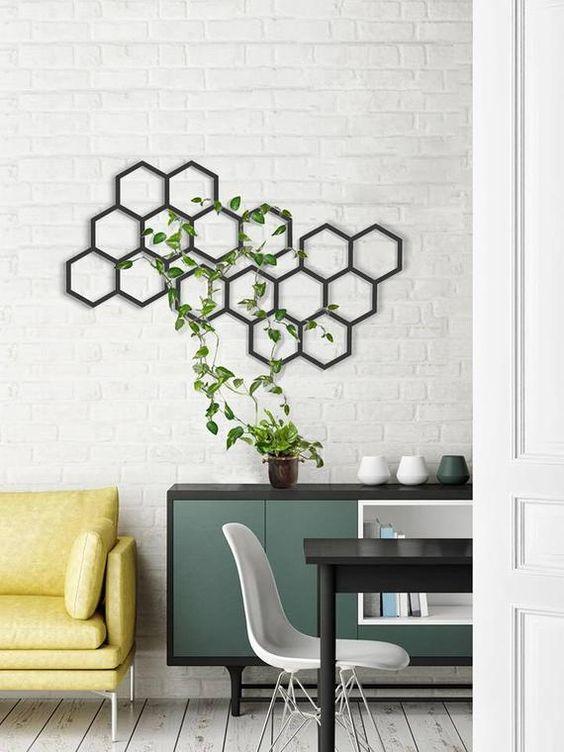 Living Room Plants Ideas 17