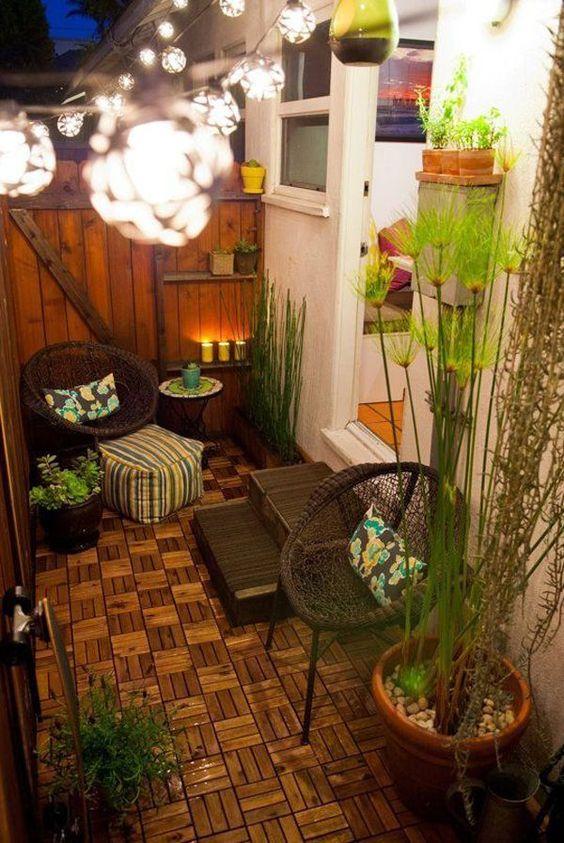 Small Backyard Ideas: Gorgeous Rustic Decor