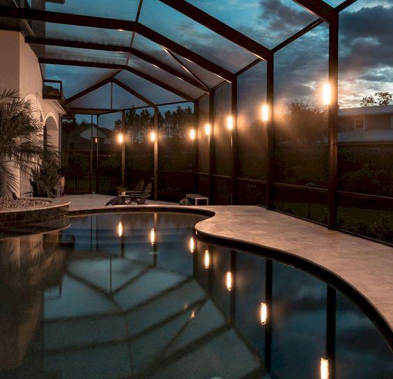 Swimming Pool Lighting Ideas 10