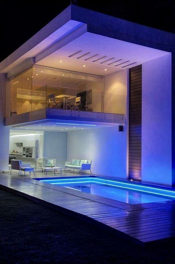 Swimming Pool Lighting Ideas 12