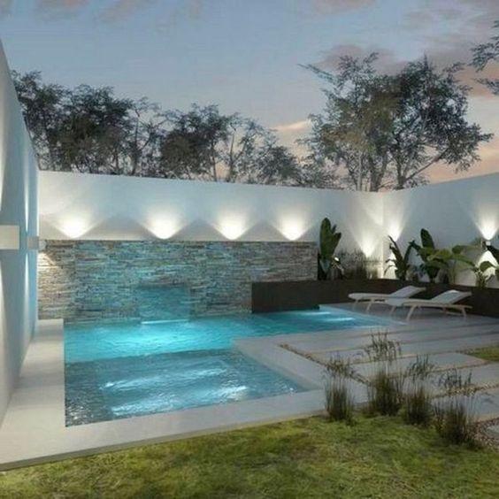 Swimming Pool Lighting Ideas 16
