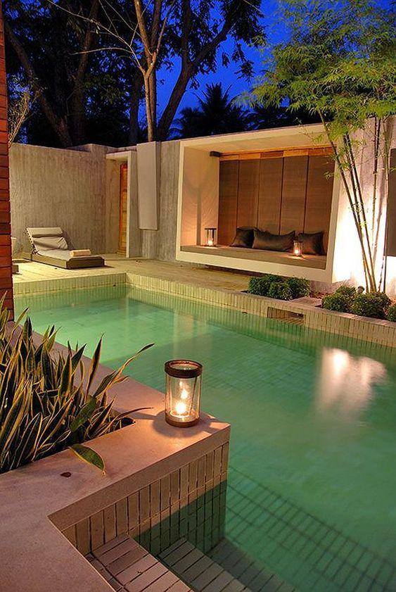 Swimming Pool Lighting Ideas 18